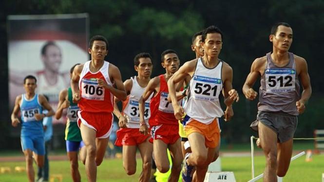 Kejurnas Atletik 2010