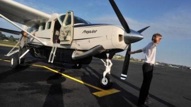 Ilustrasi/Pesawat perintis  dari maskapai Susi Air