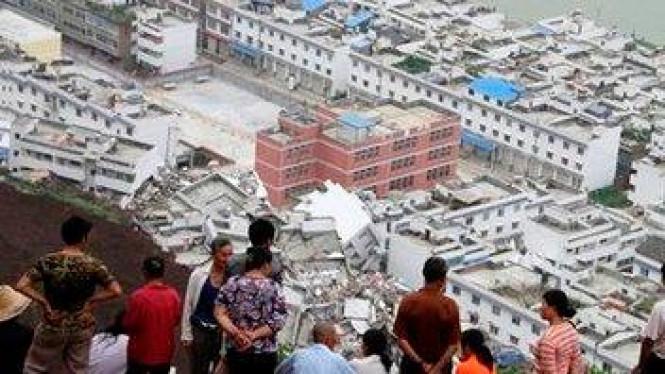 Banjir lumpur China