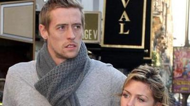 Peter Crouch dan Abbey Clancy