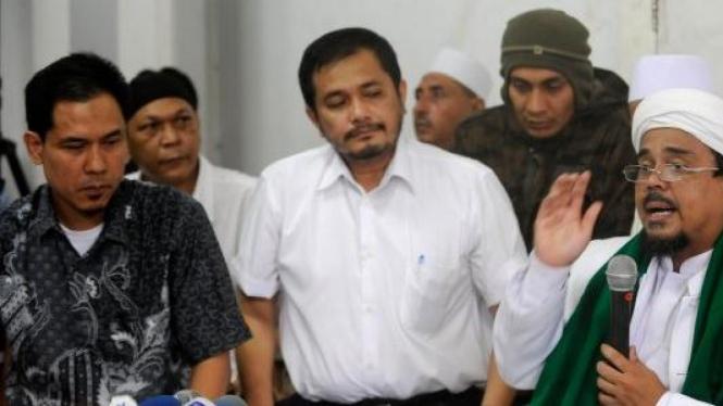 Munarman, Jose Rizal dan Rizieq Shihab