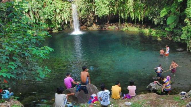 objek wisata pemandian Lubuk Bonta di Kayu Tanam, Pariaman