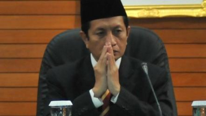 Nasaruddin Umar masih sempat bertemu Selasa kemarin.