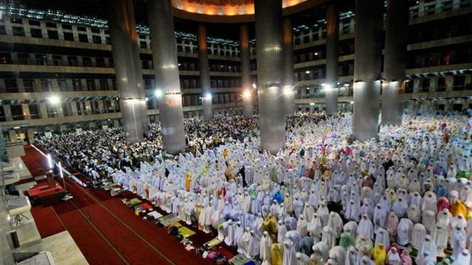Ilustrasi Masjid Istiqlal