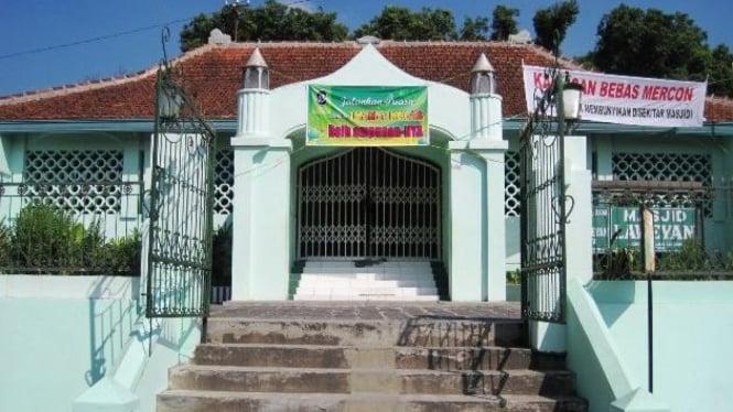 Masjid Laweyan yang dulunya adalah Pura