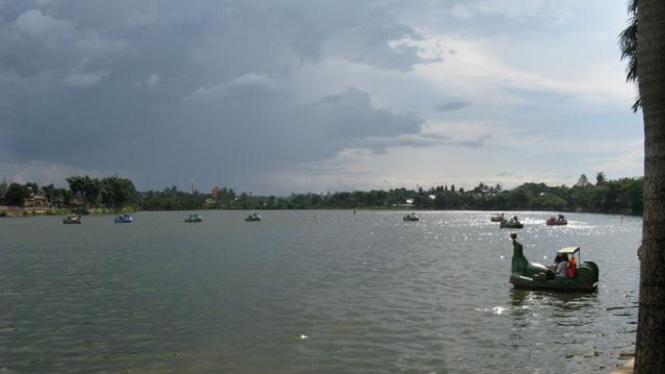 Situ Babakan Jagakarsa, di Selatan Jakarta