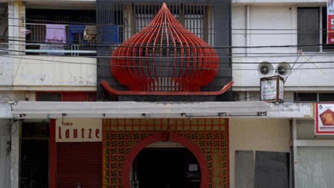 Masjid Lautze di Sawah Besar