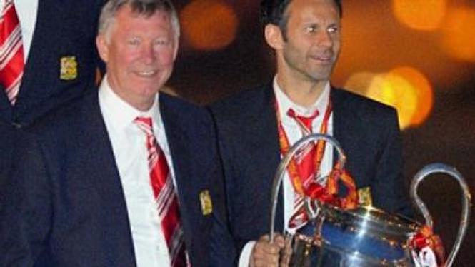 Sir Alex Ferguson dan Ryan Giggs