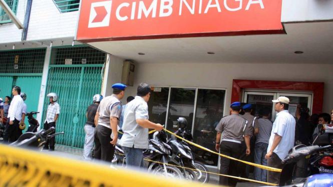 Perampokan Bank CIMB Niaga, Medan