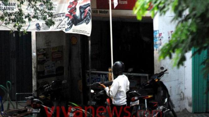 Perampok Bank CIMB Niaga, Medan