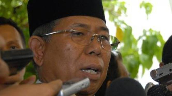 Mantan Menteri Sekretaris Negara Sudi Silalahi.