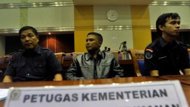 3 Petugas Kementerian Kelautan ditangkap Malaysia 13 Agustus