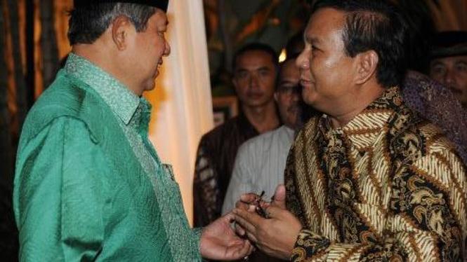 Susilo Bambang Yudhoyono (SBY) dan Prabowo Subianto