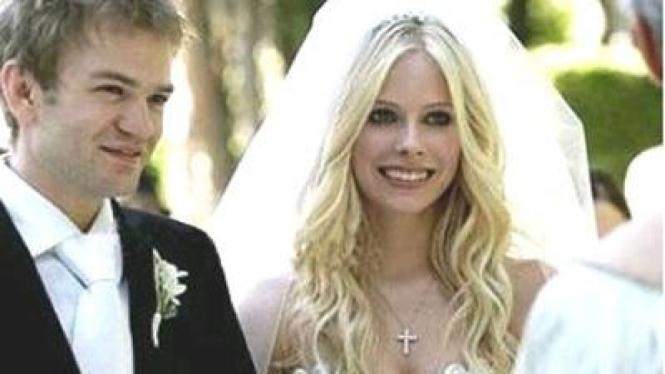 Avril Lavigne dan Deryck Whibley