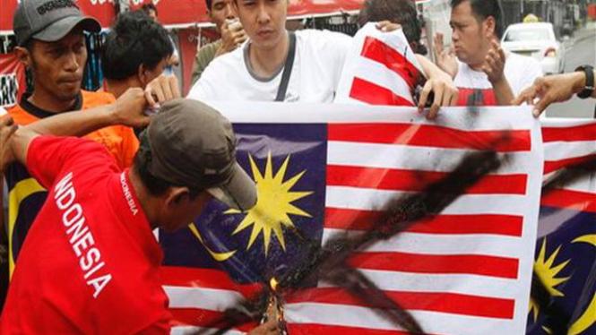 Demonstrasi anti Malaysia di Jakarta pada 17 Agustus 2010