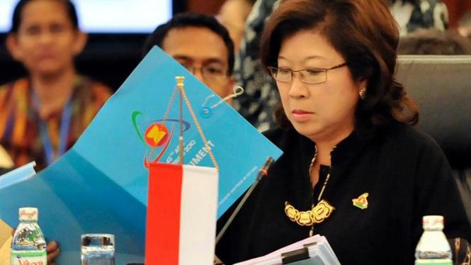 Menteri Perdagangan Marie Elka Pangestu