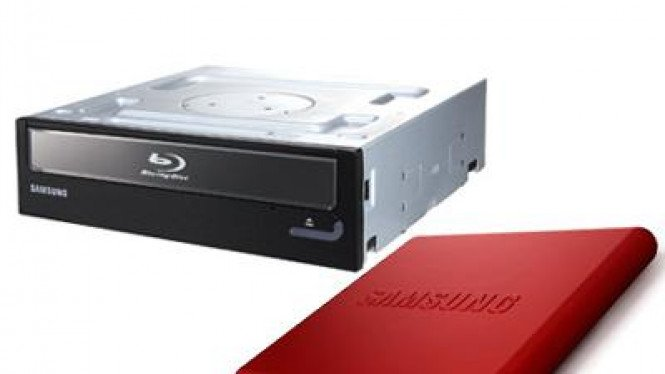 BluRay Combo drive dan DVD Writer eksternal Samsung