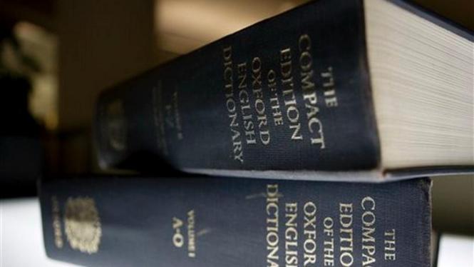 Kamus Bahasa Inggris terbitan Oxford