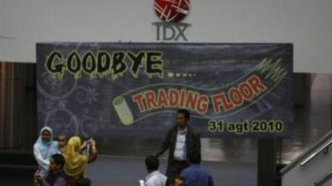 Lantai Perdagangan Bursa Efek