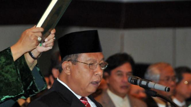 Gubernur BI, Darmin Nasution