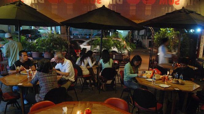 ilustrasi restoran dimsum