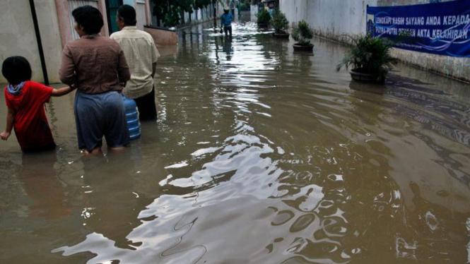 Banjir di Kawasan Petogogan