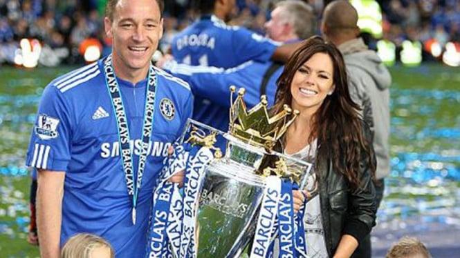 John Terry dan istrinya Toni