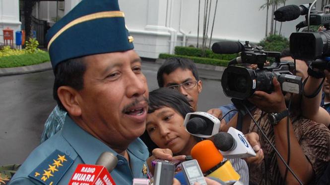 Kepala Staf TNI AL Laksamana TNI Agus Suhartono
