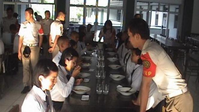 Salah satu kegiatan Paskibraka DKI Jakarta