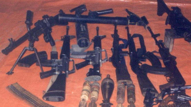 Senjata yang digunaka Jamaah Islamiyah di Mindanao, Filipina