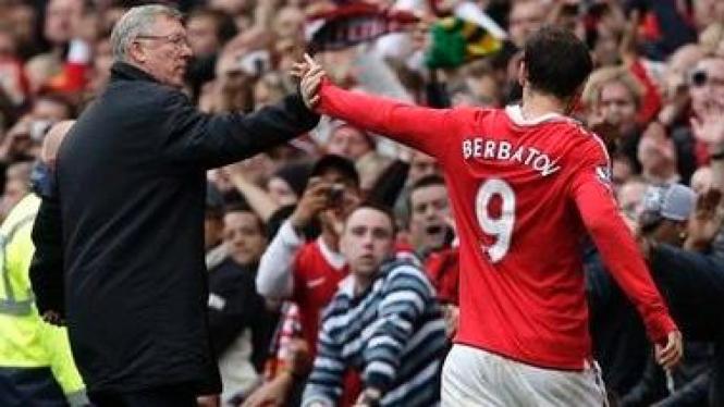 Sir Alex Ferguson dan Dimitar Berbatov