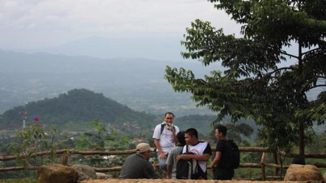 Kawasan Gunung Halimun dan Salak di Bogor