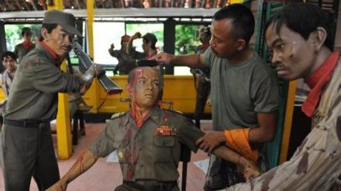 Diorama penyiksaan Mayjen S Parman di Lubang Buaya dibersihkan. (Foto ilustrasi)