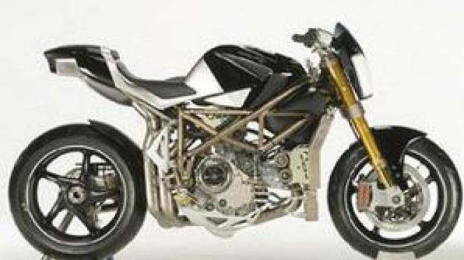 Sepede motor konsep Macchia Nera