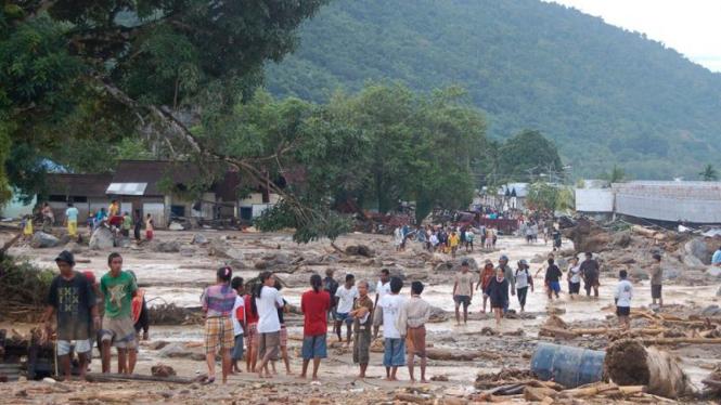 Banjir bandang di Wasior, Papua