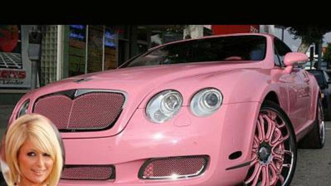 Paris Hilton – Bentley GT Continental