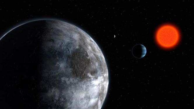 Planet Zarmina yang mengitari bintang kerdil berwarna merah Gliese 581