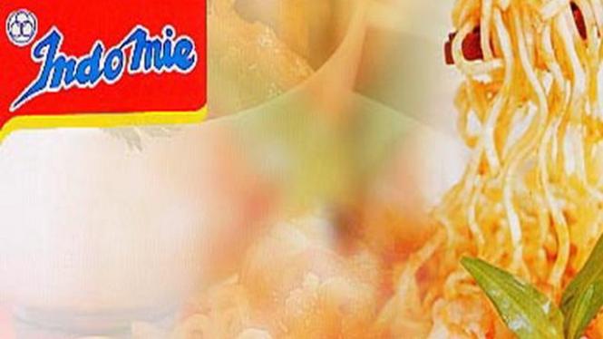 Ilustrasi iklan Indomie