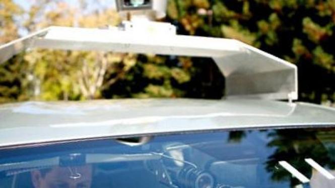 Kendaraan otomatis yang dikembangkan Google
