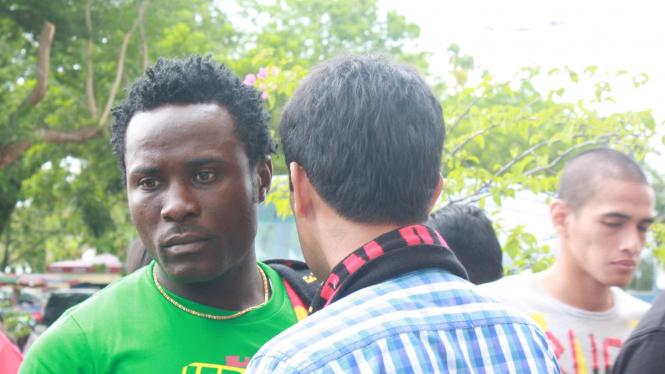 Edward Wilson striker Semen Padang asal Liberia