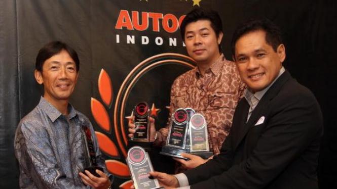 Direktur Marketing dan Purna Jual Honda Indonesia Jonfis Fandy