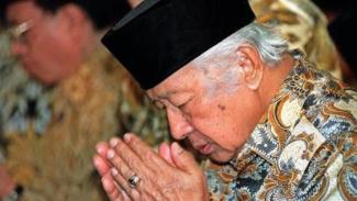 Presiden Soeharto.