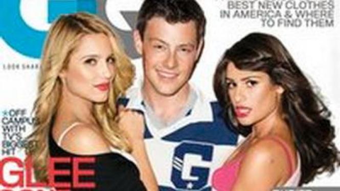 Bintang Glee di Majalah GQ