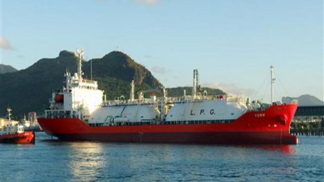 Kapal tanker berbenda Singapura, MV York