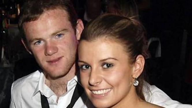 Wayne Rooney dan Coleen McLoughlin