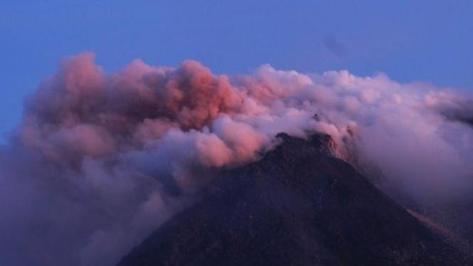 Erupsi Gunung Merapi Yogyakarta pada Selasa 26 Oktober 2010