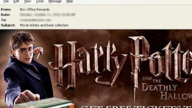 Spam Harry Potter