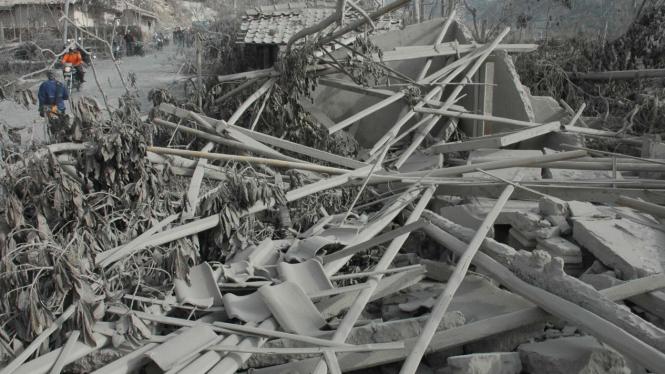 Lokasi letusan Gunung Merapi