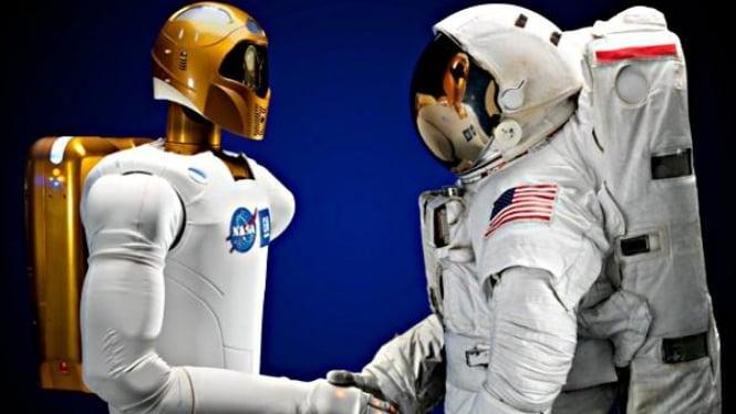 Robonaut 2 robot humanoid pertama di antariksa