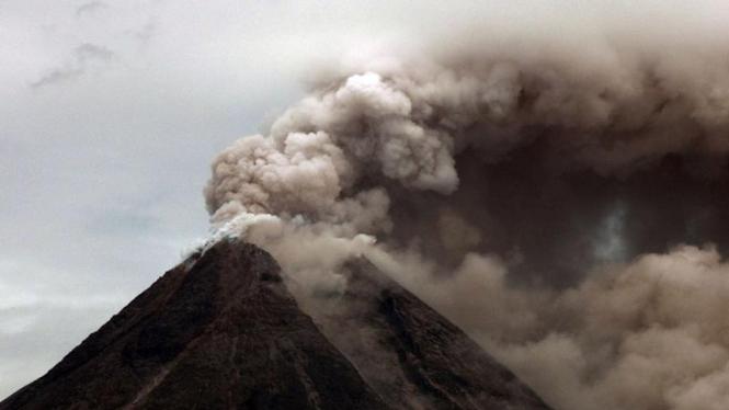 Erupsi terbesar Gunung Merapi tahun 2010